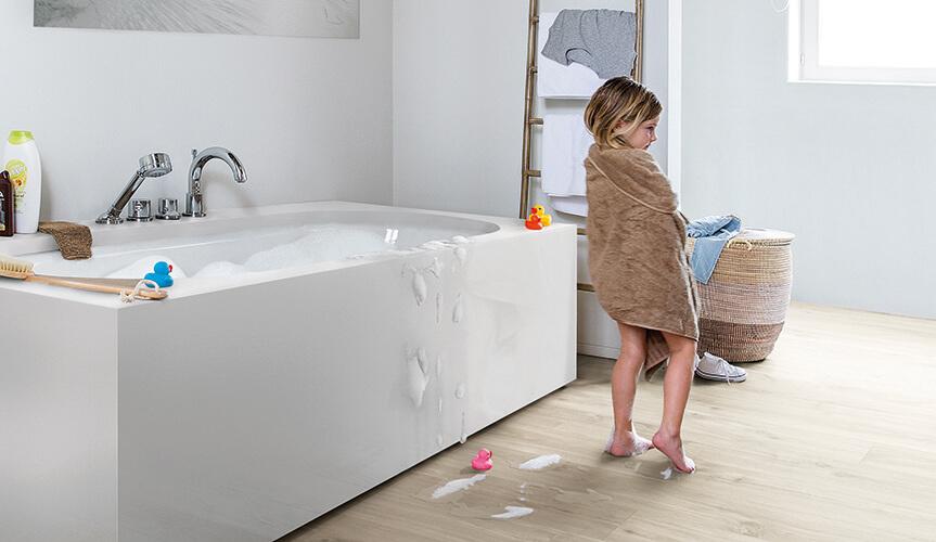 Wybierz Idealną Podłogę Do łazienki Piękne Laminowane