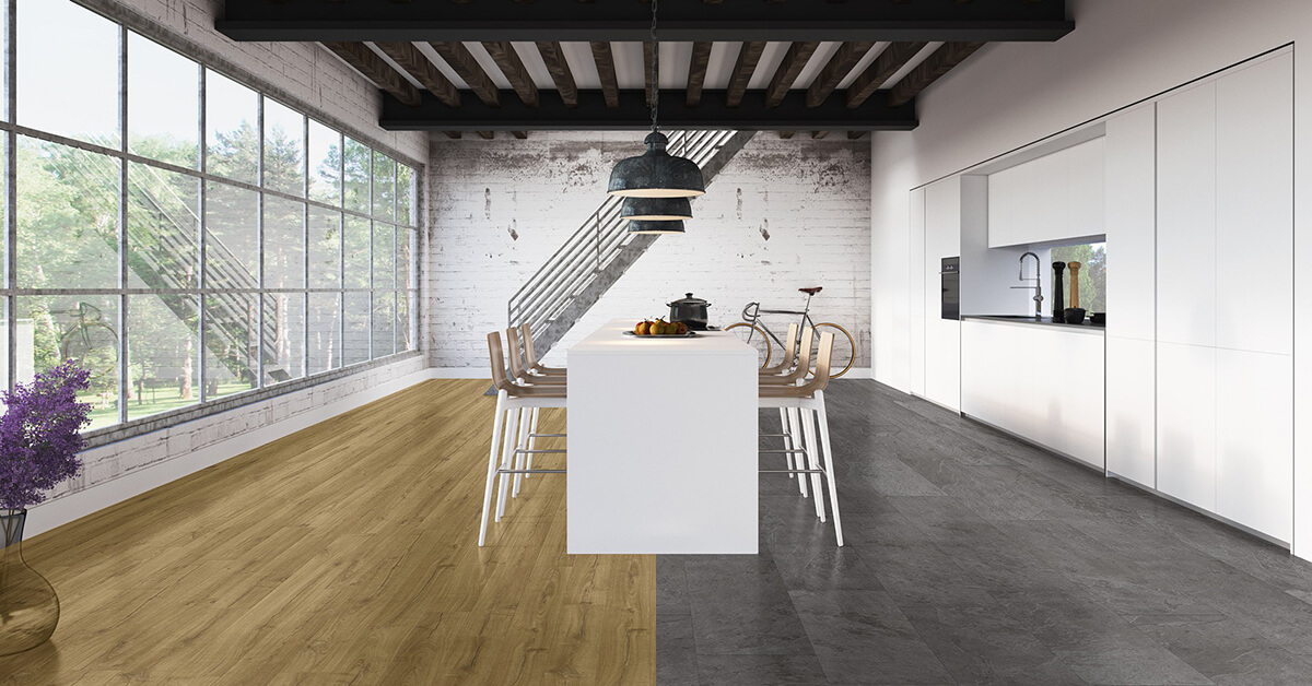 Four tips to help you choose the right floor colour - Signe different open office ...
