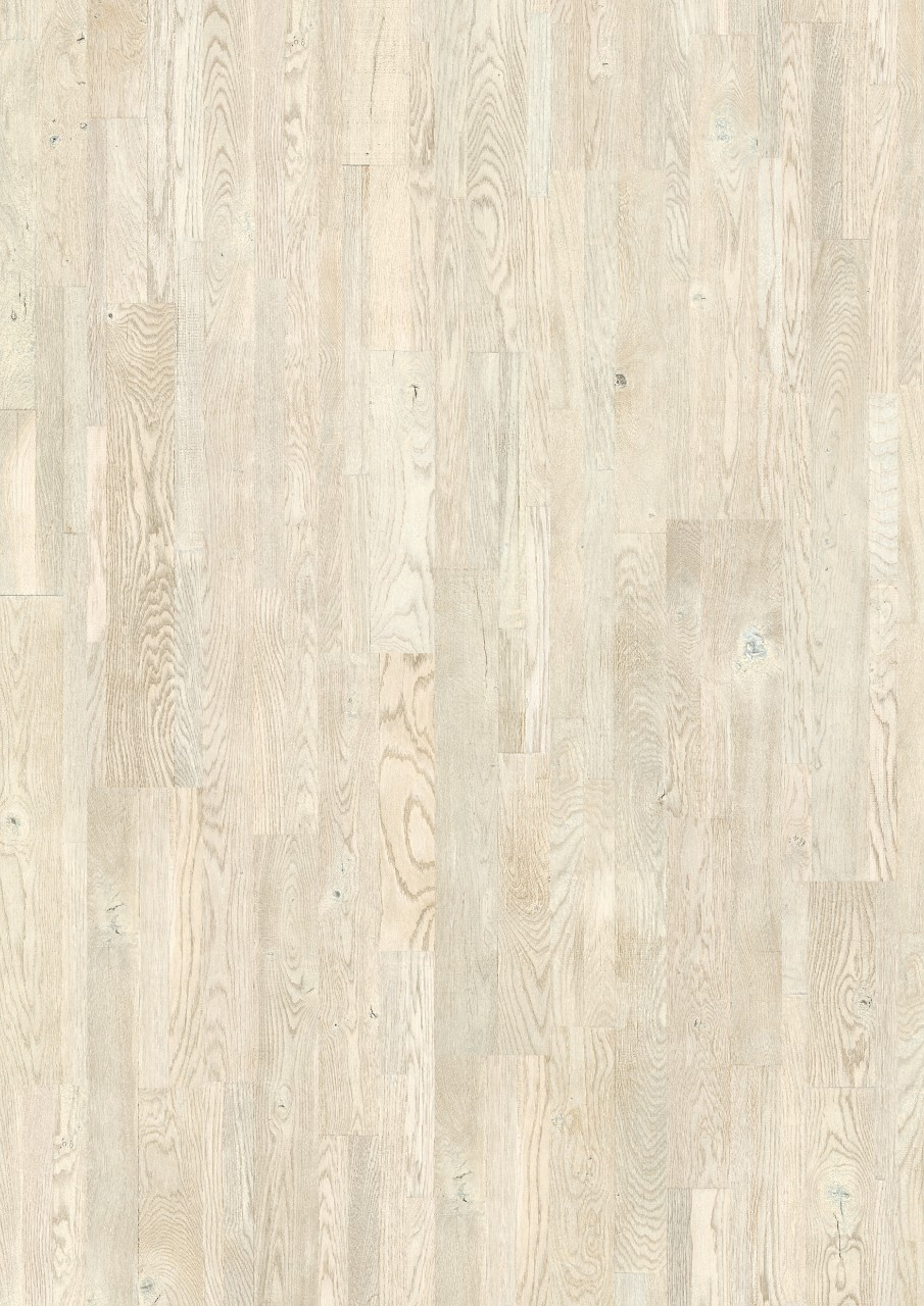 White Variano Parquet Painted white oak oiled VAR1629S