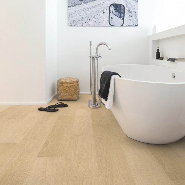 Beige Impressive Ultra Laminate White varnished oak IMU3105