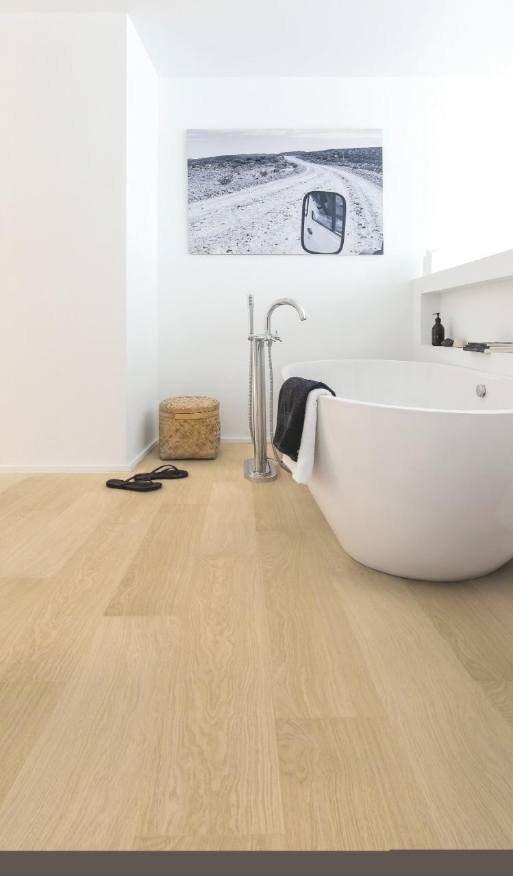 imu3105 eiche wei lackiert laminat holz und vinylb den. Black Bedroom Furniture Sets. Home Design Ideas