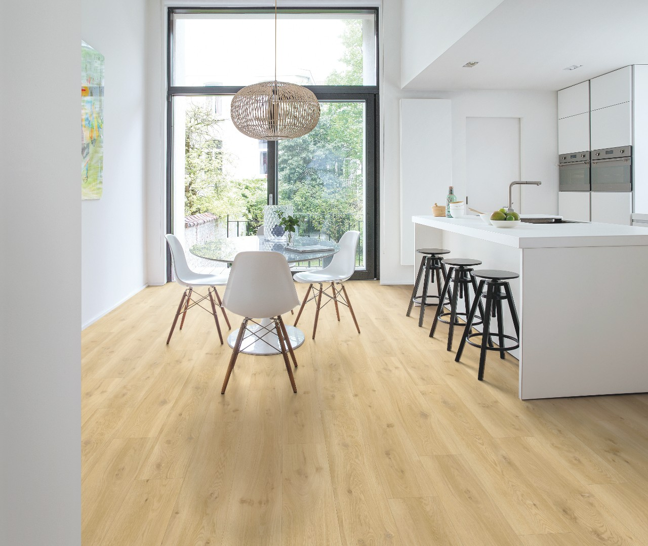 Bacl40018 Drift Oak Beige Beautiful Laminate Timber