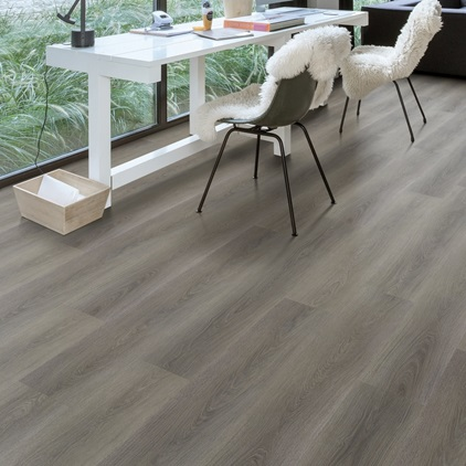 Lysegrå Balance Click Vinyl Silk oak light BACL40052