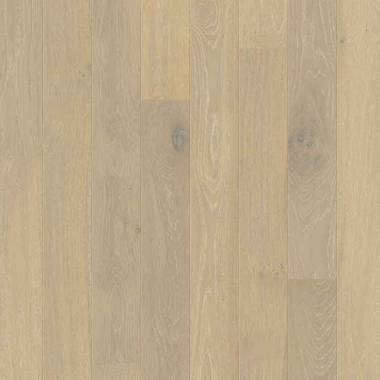 Light grey Compact Hardwood Oak snowflake white extra matt COM3099