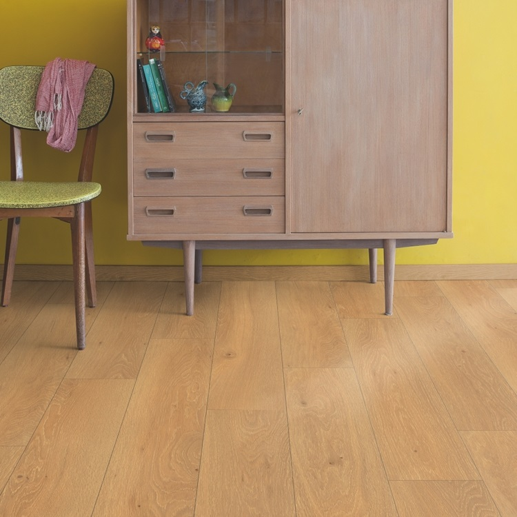 Natural Classic Laminado Carvalho Moonlight natural, régua única CLM1659