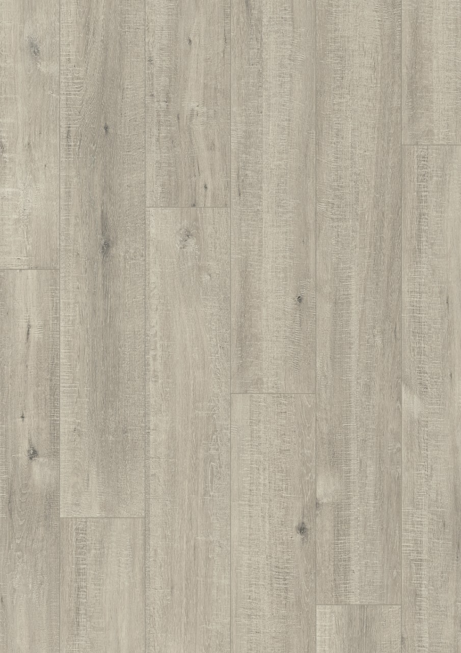 Světle šedá Impressive Laminát Dub šedý se zářezy po pile IM1858