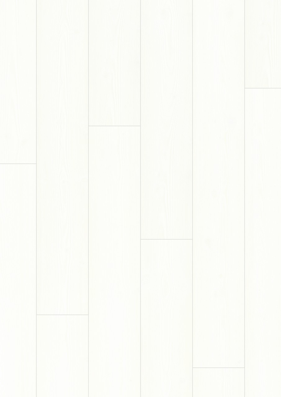 Bílá Impressive Laminát Bílá prkna IM1859