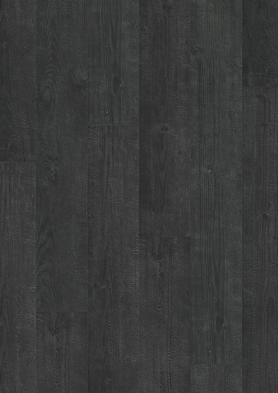 Černá Impressive Laminát Ohořelá prkna IM1862