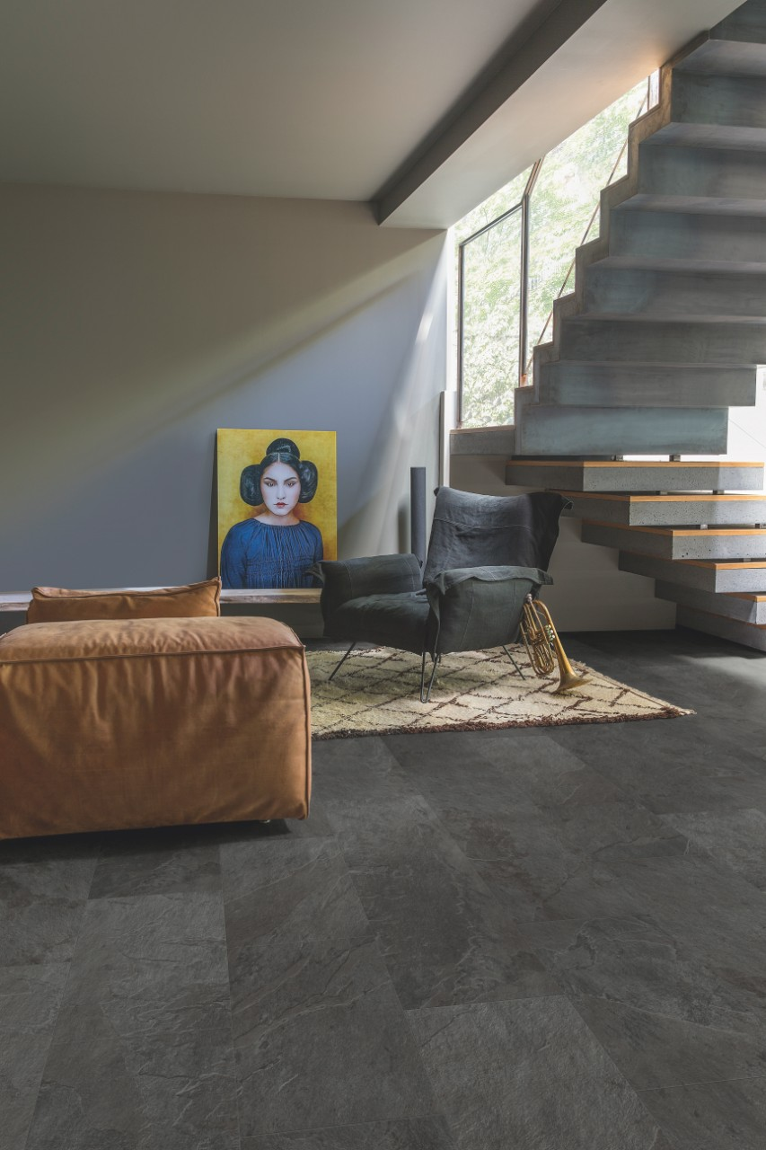 laminat schiefer excellent modernes flisendekor laminat. Black Bedroom Furniture Sets. Home Design Ideas