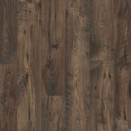 Black Eligna Wide Laminate Reclaimed chestnut brown UW1544
