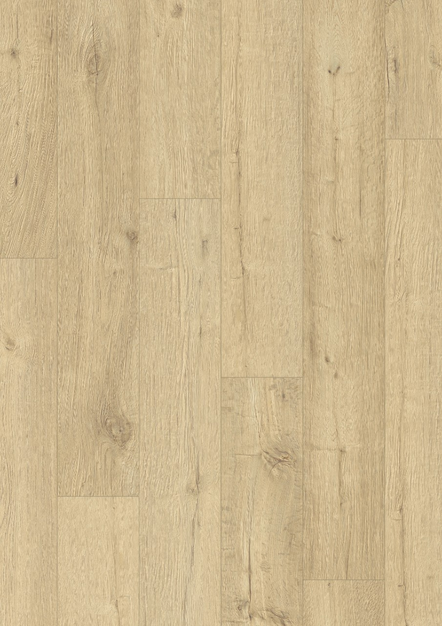 Beige Impressive Ultra Laminate Sandblasted oak natural IMU1853