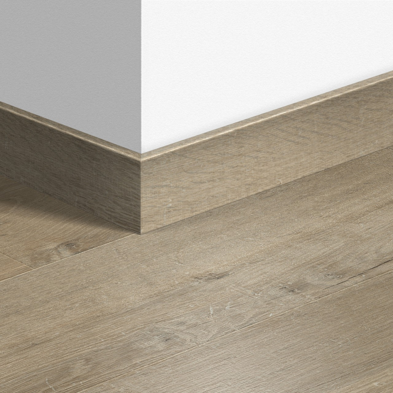 QSPSKR Laminate Accessories Soft oak light brown QSPSKR03557