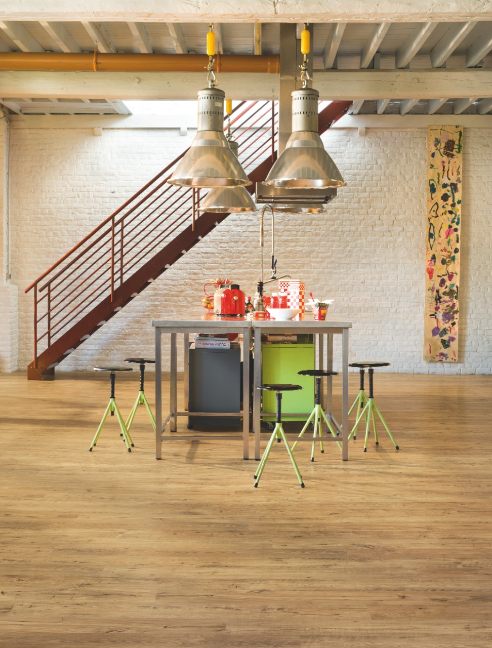 Natural Eligna Wide Laminate Reclaimed chestnut natural UW1541