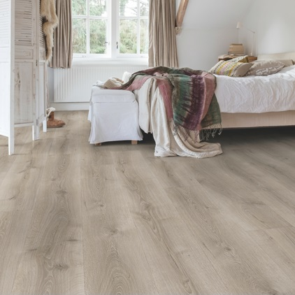 Lysegrå Majestic Laminat Desert Oak Brushed Grey MJ3552