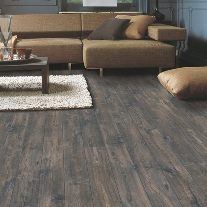 Sort Perspective Wide Laminat Caribbean oak dark ULW1546
