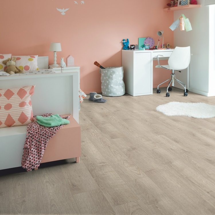 Dark grey Balance Click Plus Vinyl Pearl oak brown grey BACP40133