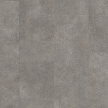 Dark grey Ambient Click Vinyl Dark grey concrete AMCL40051