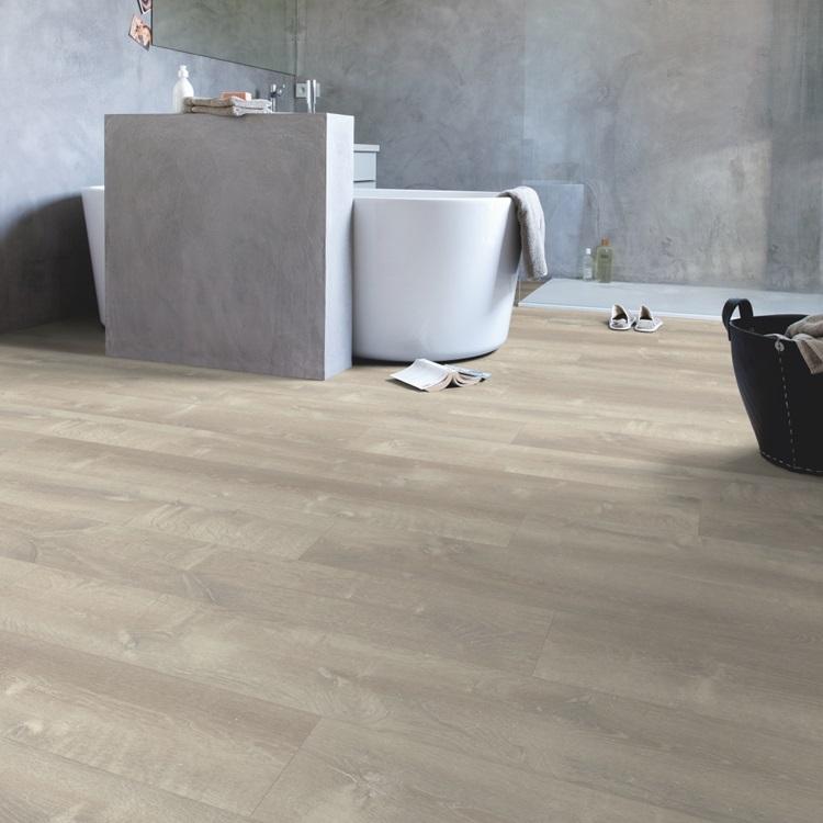 Warmes Grau pucl40083 eiche sandsturm warmes grau laminat holz und vinylböden