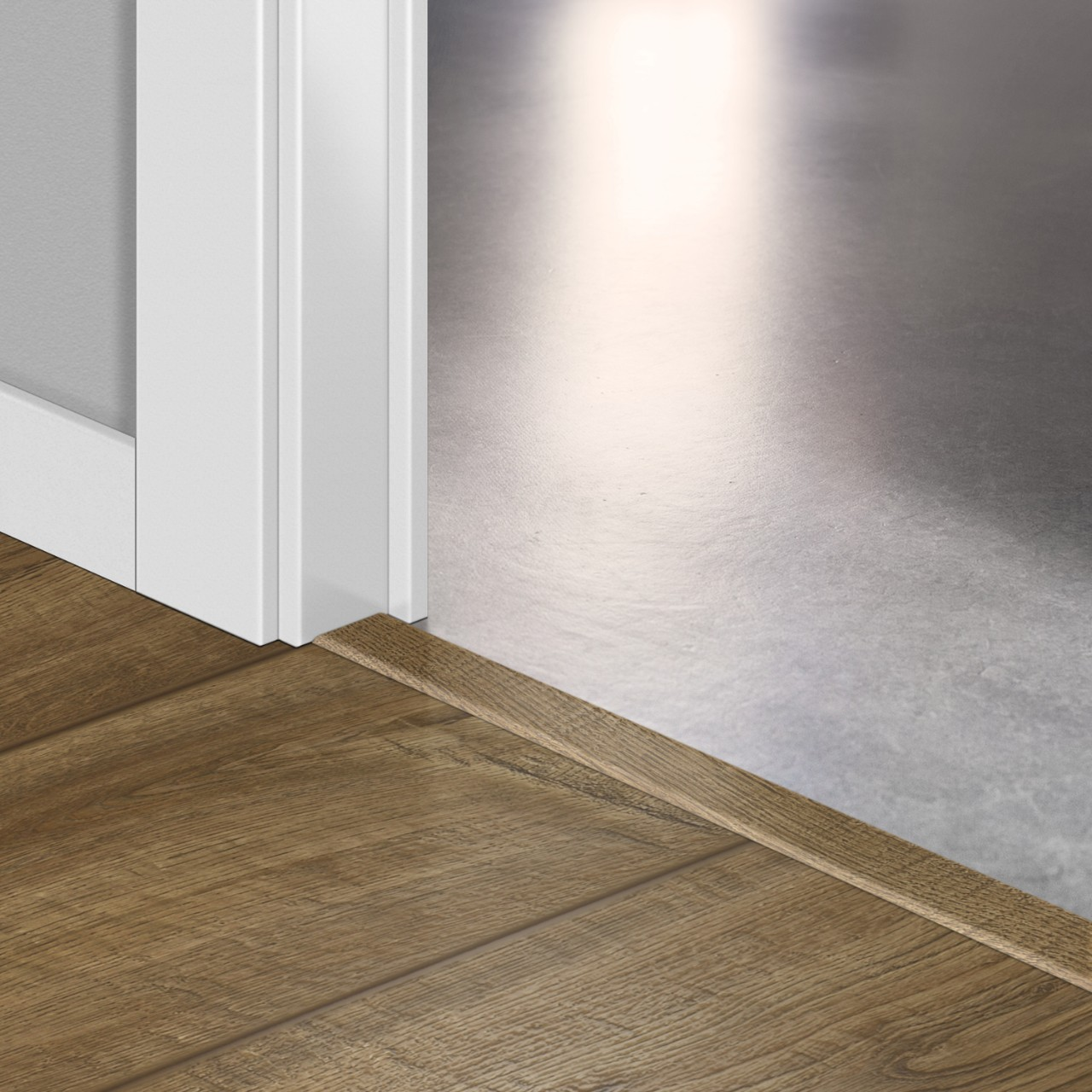QSINCP Laminate Accessories Scraped oak grey brown QSINCP01850