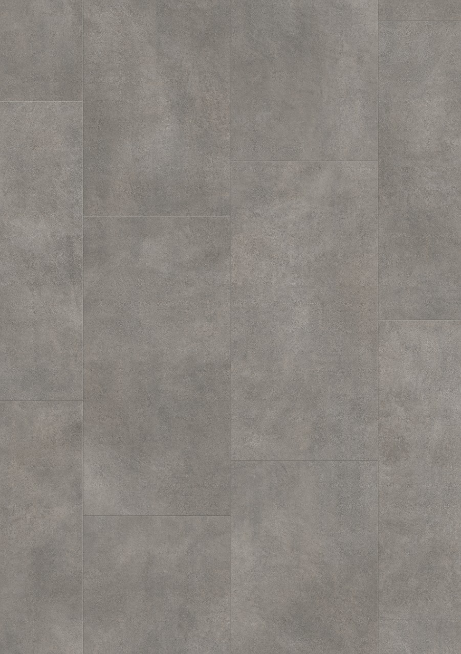 Dark grey Ambient Click Plus Vinyl Dark grey concrete AMCP40051