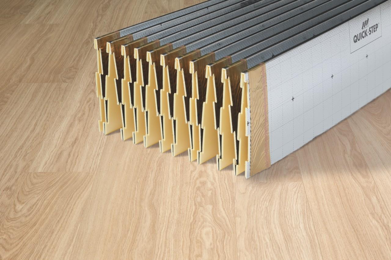 comment poser un sol stratifi quick step sols stratifi s vinyles et parquets. Black Bedroom Furniture Sets. Home Design Ideas