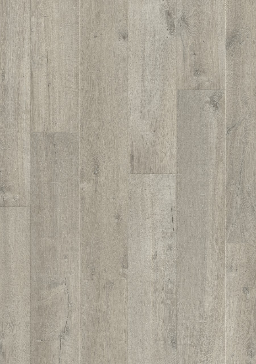 Dark grey Impressive Laminate Soft oak grey IM3558