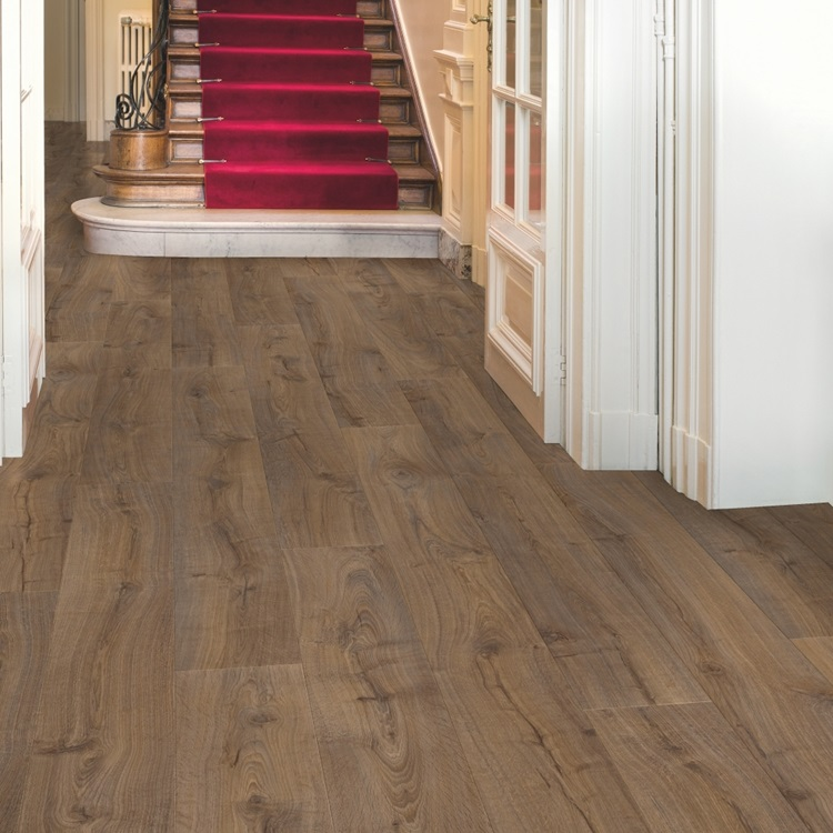 Marrón oscuro Largo Laminados Roble Cambridge oscuro LPU1664