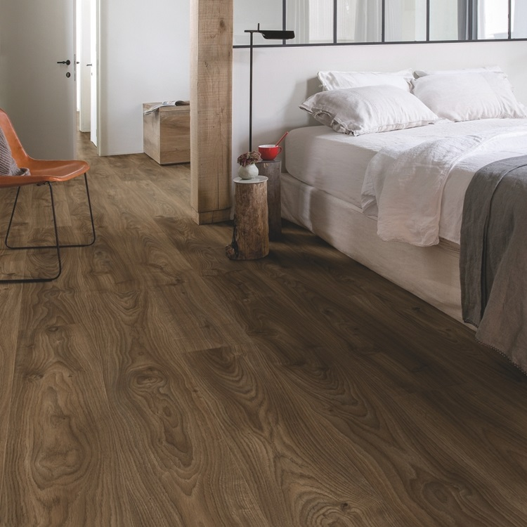 Marrone scuro Balance Click Vinile Rovere marrone scuro Cottage BACL40027