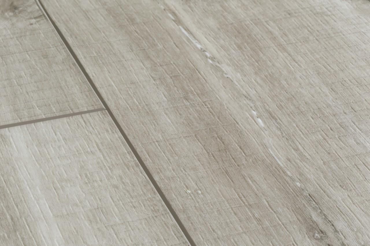 Bacp40030 canyon eik grijs zaagsn stijlvolle laminaat parket en vinylvloeren - Balances parket ...