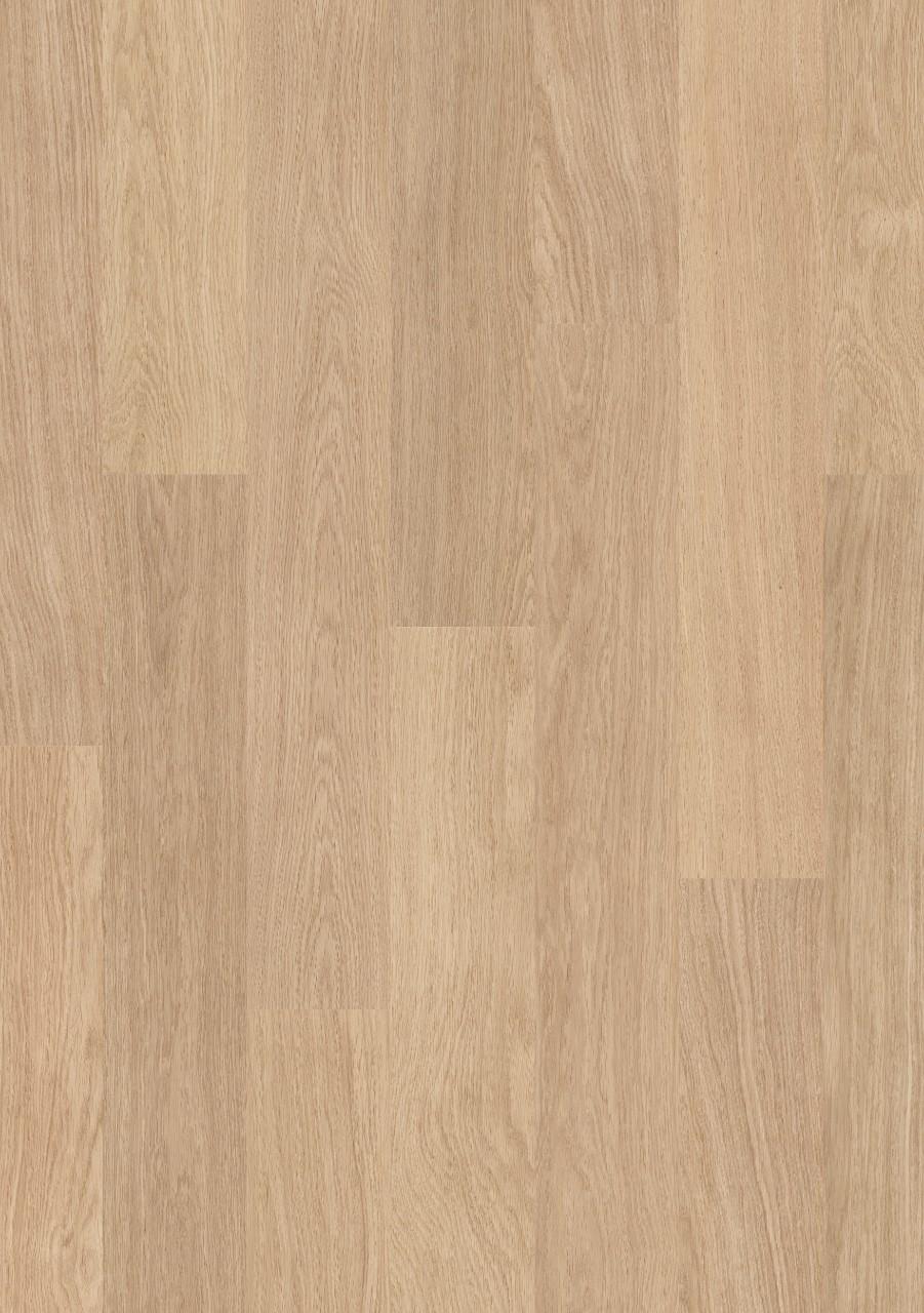 Béžová Eligna Laminát Bílá lakovaná dubová EL915