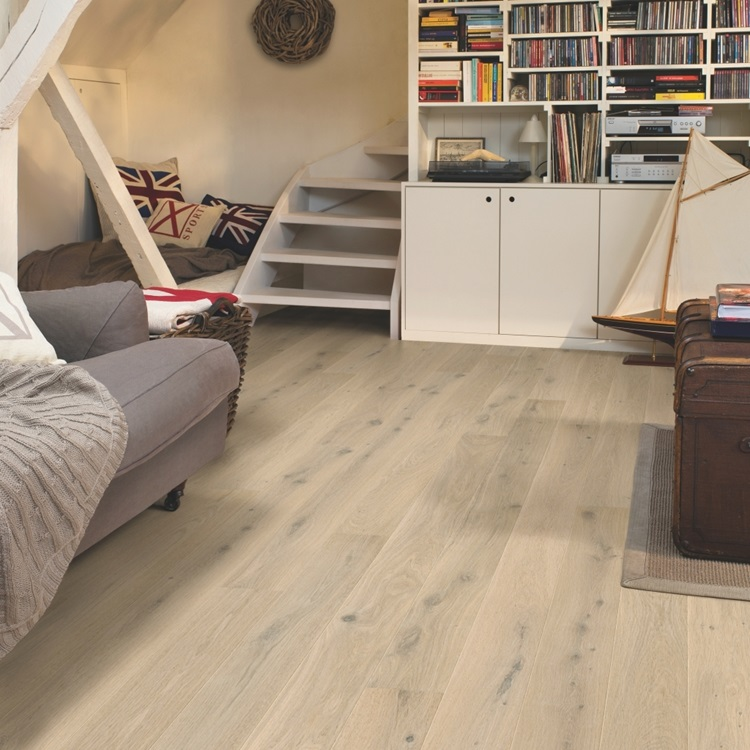 White Compact Timber Creamy white oak extra matt COM3851