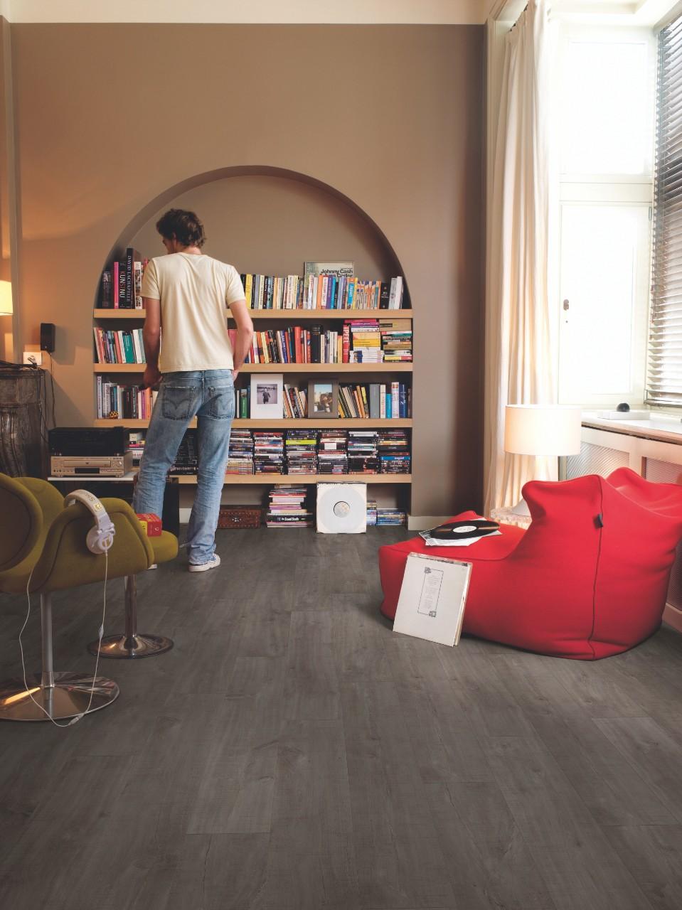 clm1657 havanna eiche dunkel mit s geschnitten laminat. Black Bedroom Furniture Sets. Home Design Ideas