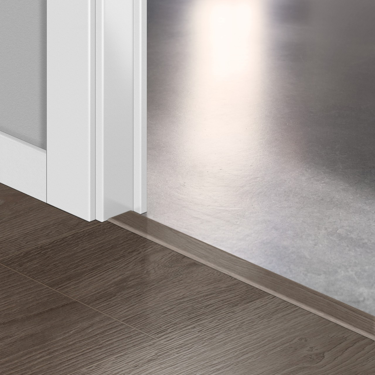 QSINCP Laminate Accessories Grey vintage oak QSINCP01286