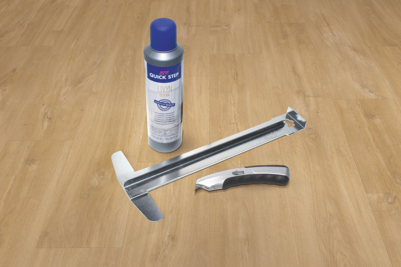 How To Install Your Vinyl Flooring Quick Step Co Uk