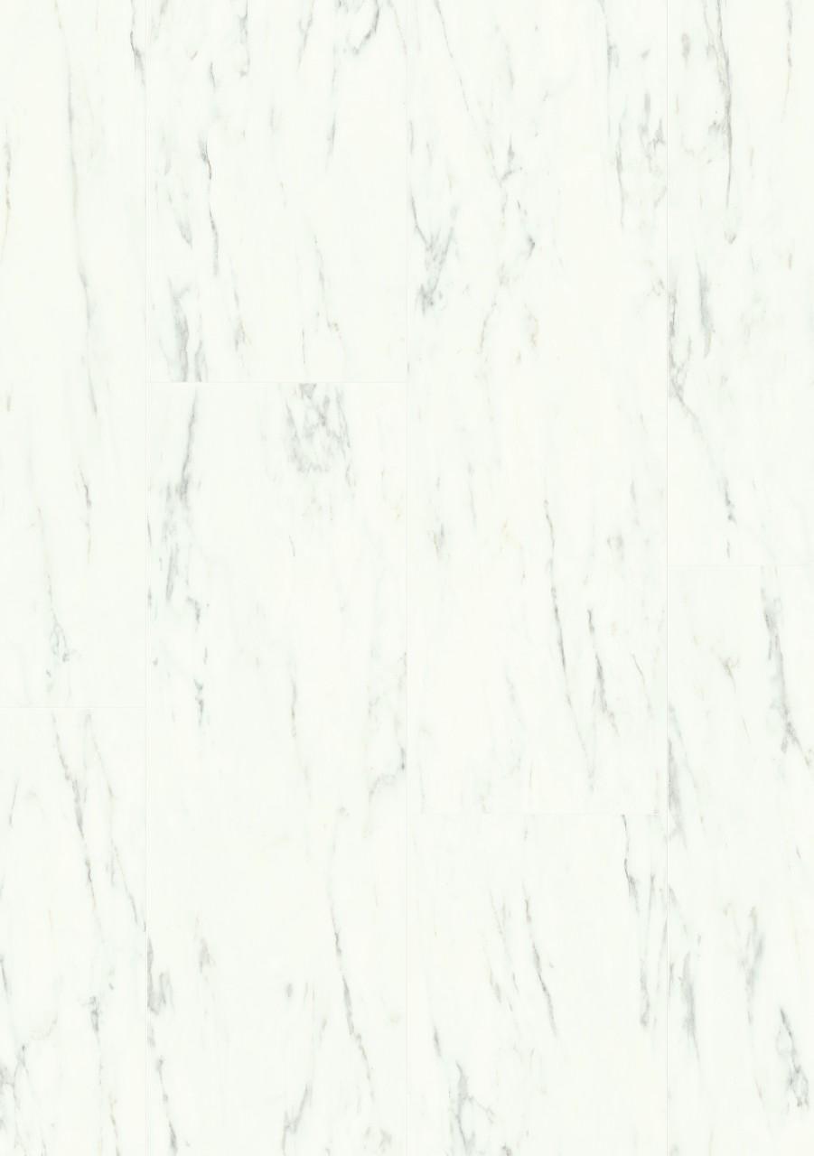 Bílá Ambient Click Vinyl Mramorová dlažba bílá AMCL40136