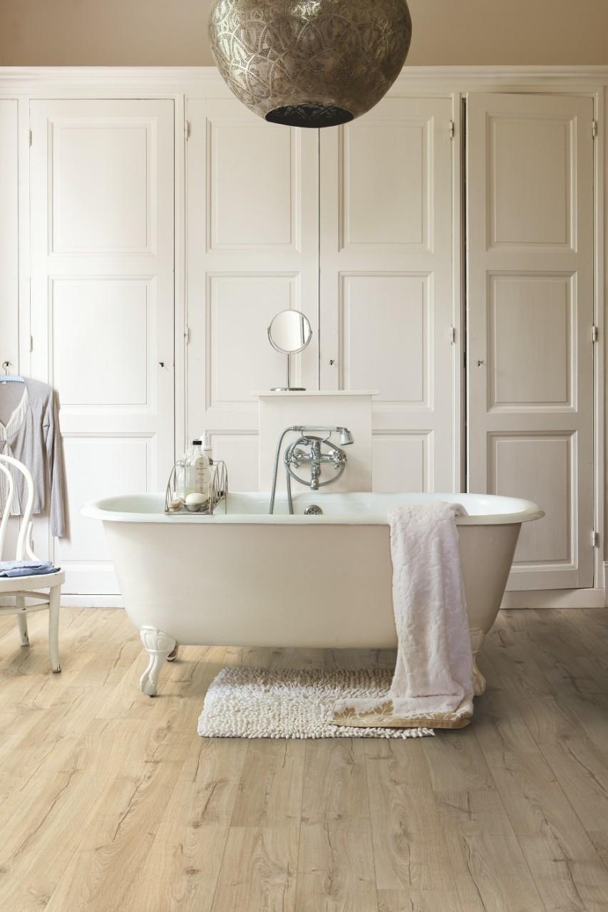 Suelos de quick step for Parquet salle de bain quick step