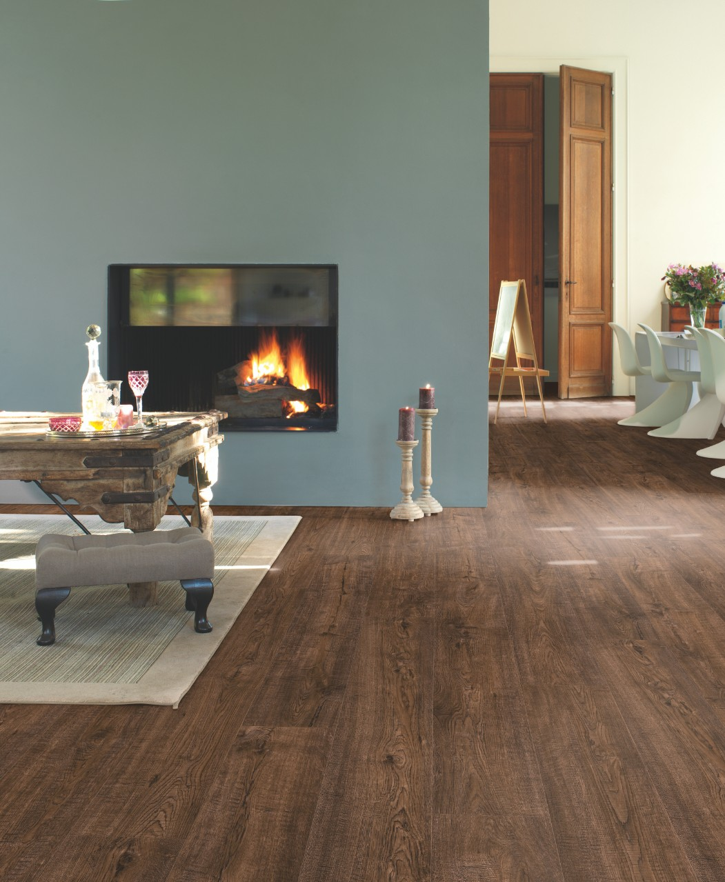 Dark brown Impressive Ultra Laminate Espresso Walnut IMU3439