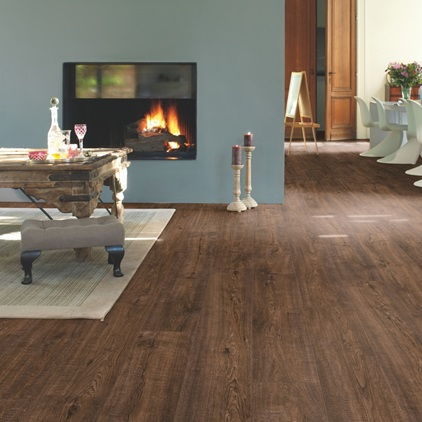 Dark brown Impressive Ultra Laminate Espresso (Walnut) IMU3439