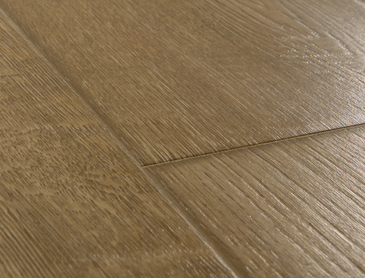 Im1850 scraped oak grey brown beautiful laminate wood for Quick step flooring ireland