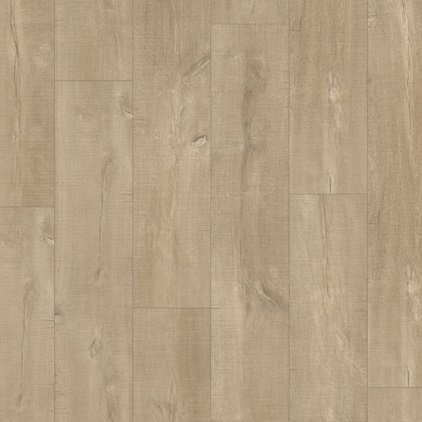 Beige Eligna Wide Laminate Oak with saw cuts light UW1547