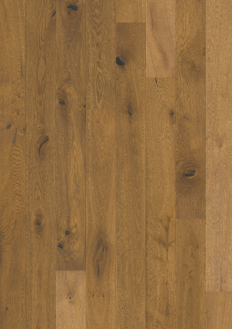 Dark brown Castello Parquet Barrel brown oak oiled CAS3897S