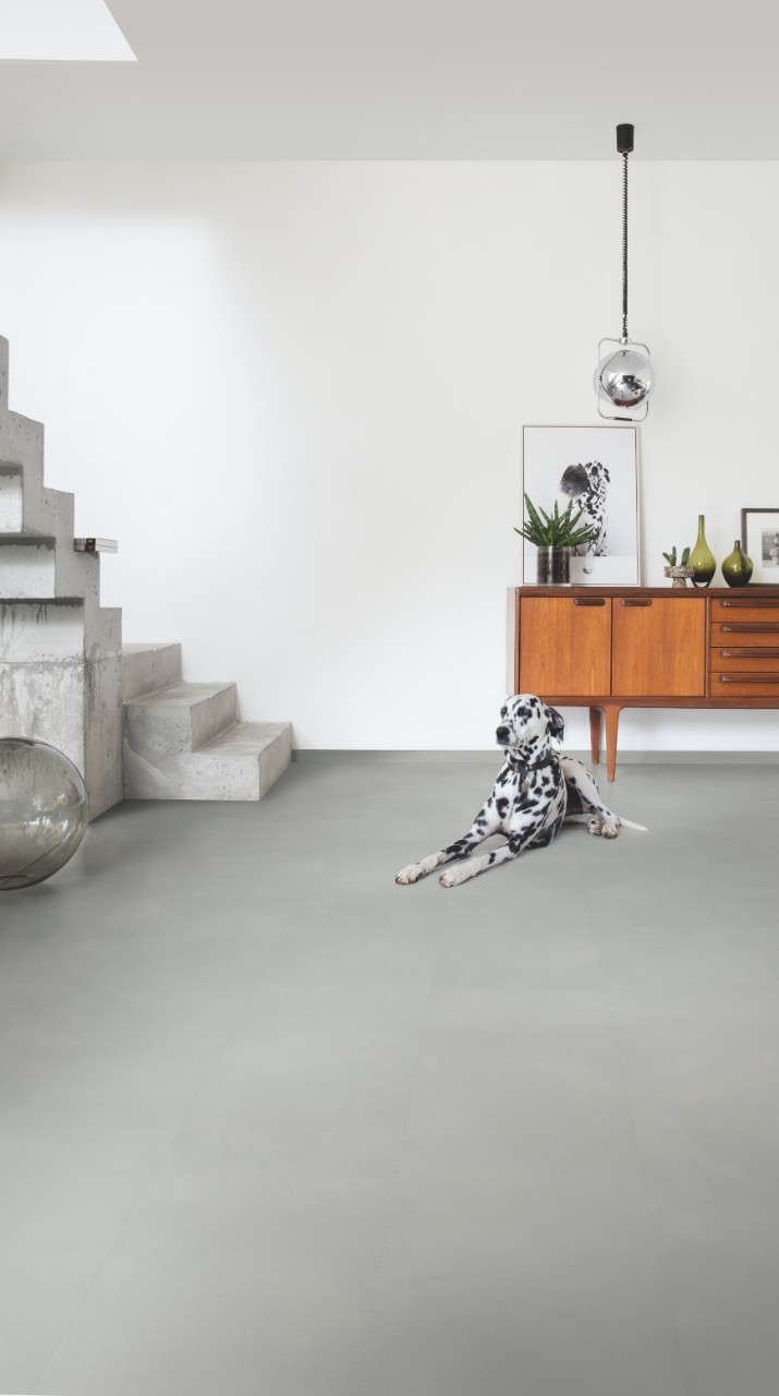 AMGP40139 | Cemento grigio chiaro | Bellissimi pavimenti in laminato ...