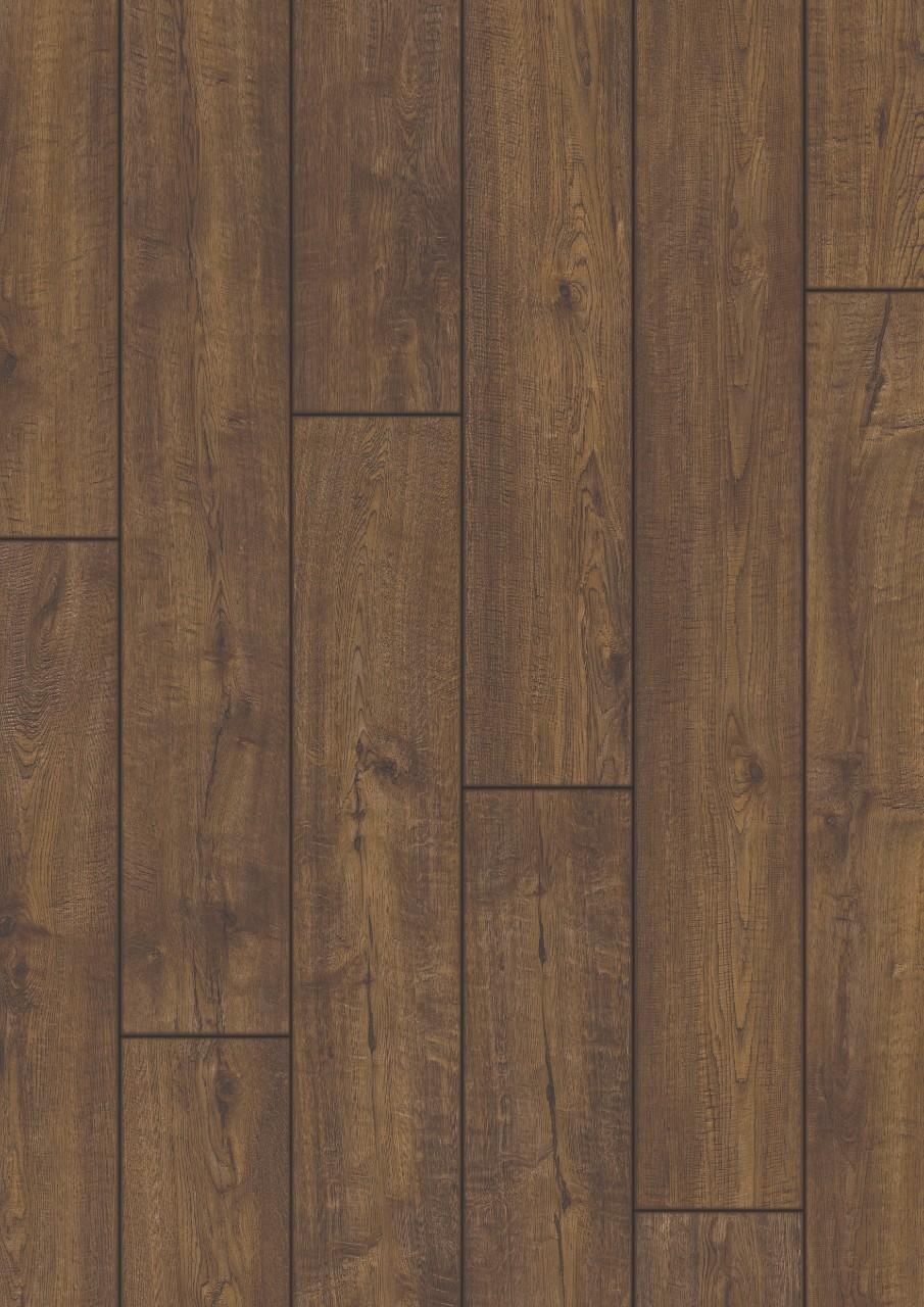 Темно-коричневый Impressive Ultra Ламинат Дуб деревенский IMU1851