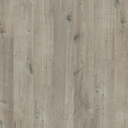 Dark grey Pulse Glue Plus Vinyl Cotton oak grey with saw cuts PUGP40106