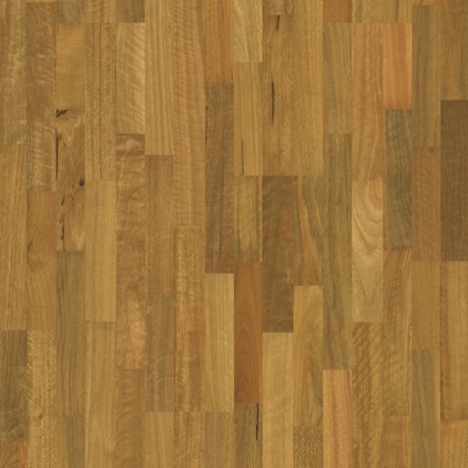 Dark brown ReadyFlor Timber Spotted Gum 3 strip GMRF22SGH
