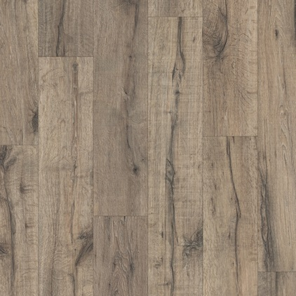 Dark grey Eligna Wide Laminate Reclaimed oak brown UW1545