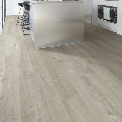 Dark grey Impressive Ultra Laminate Soft oak grey IMU3558