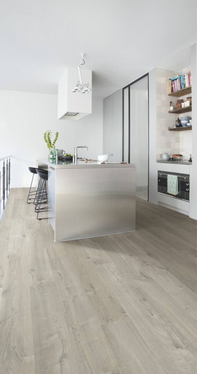 Imu3558 soft oak grey quick for Soft laminate flooring
