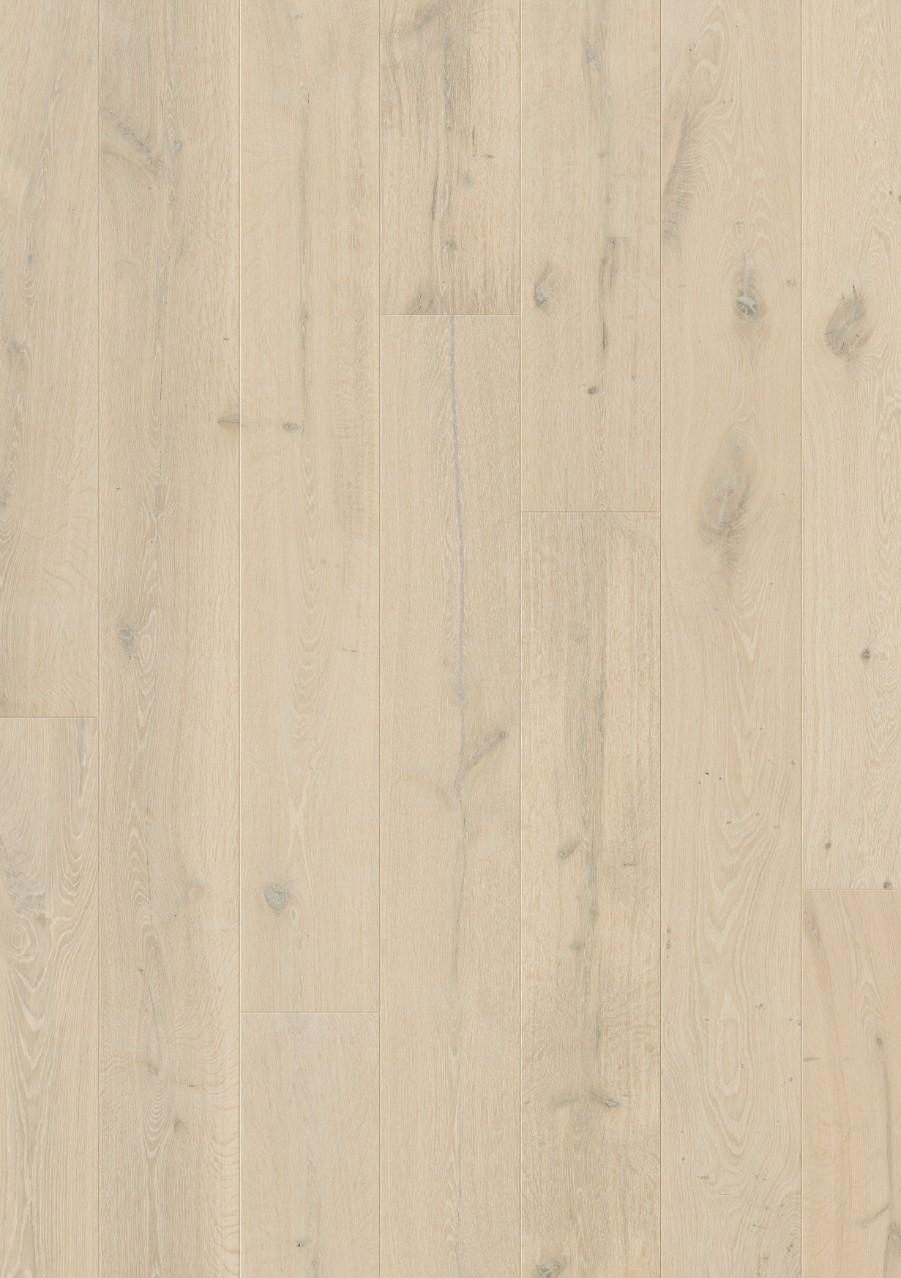 Quick step massimo extrabrede en extralange houten vloerbekleding stijlvolle laminaat - Betegeld wit parket effect ...