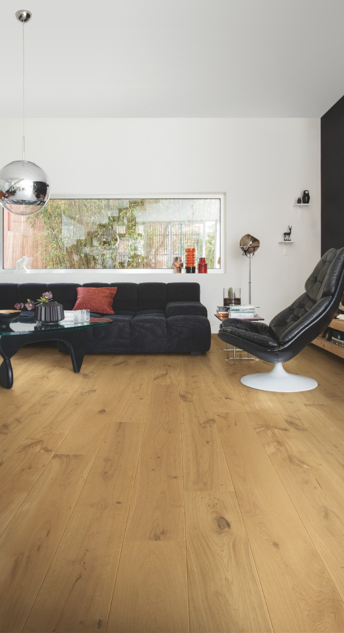 Pal3893s sunset oak extra matt beautiful laminate for Quick step flooring ireland